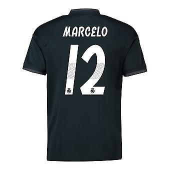 2018-19 Real Madrid Away Shirt (Marcelo 12) - Kids