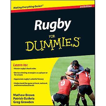 Rugby för Dummies (3rd) av Mathew Brown - Patrick Guthrie - Greg växa