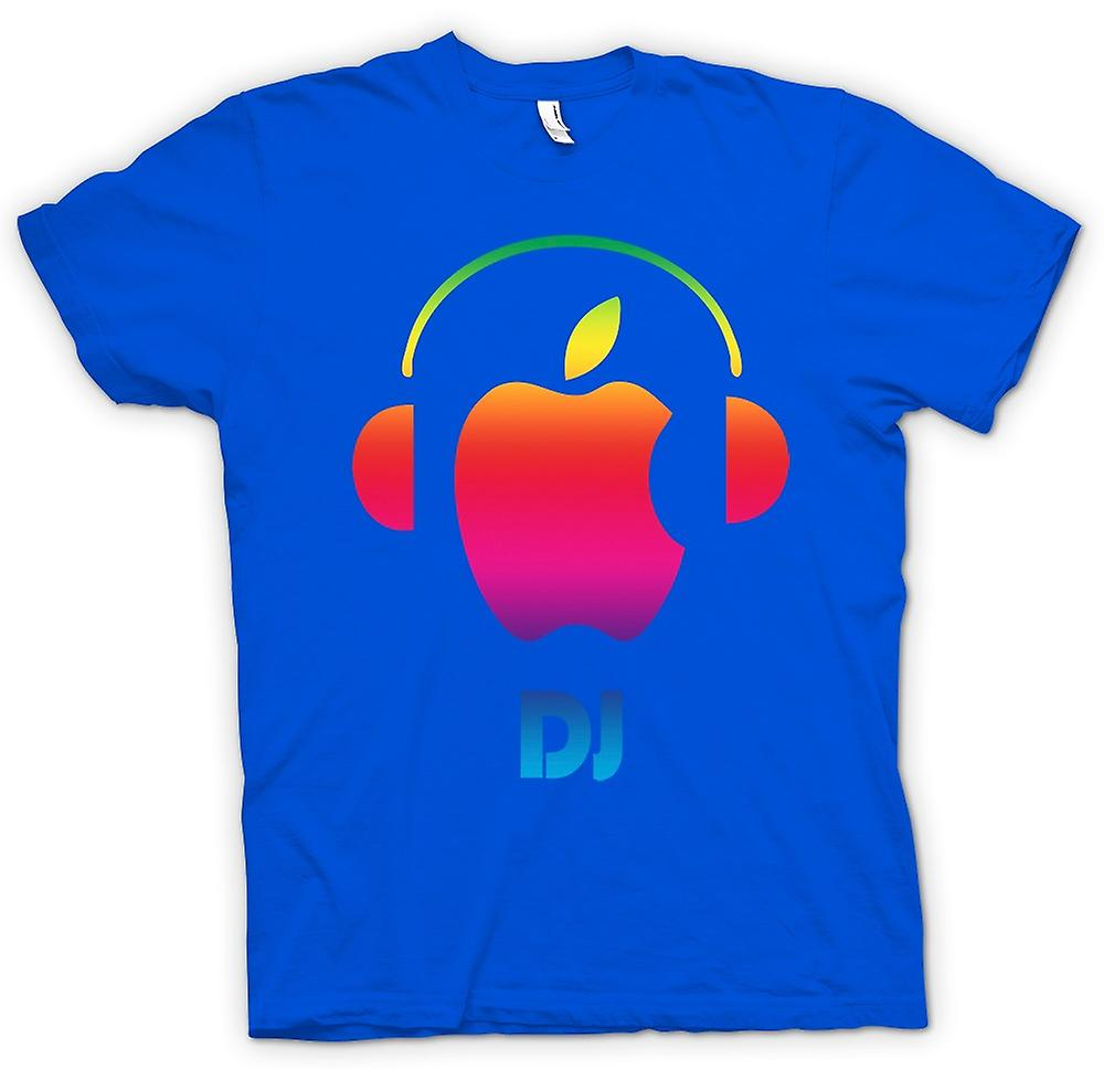 Mens T-shirt - Apple - DJ Headphones