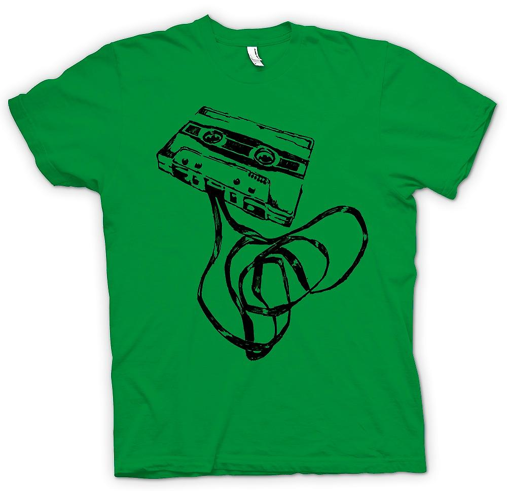 Heren T-shirt-oude Skool Tape