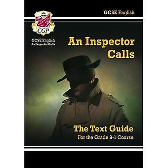 GCSE anglais: L'inspecteur appelle texte Guide PT. 1 & 2 (Gcse texte anglais Guide)