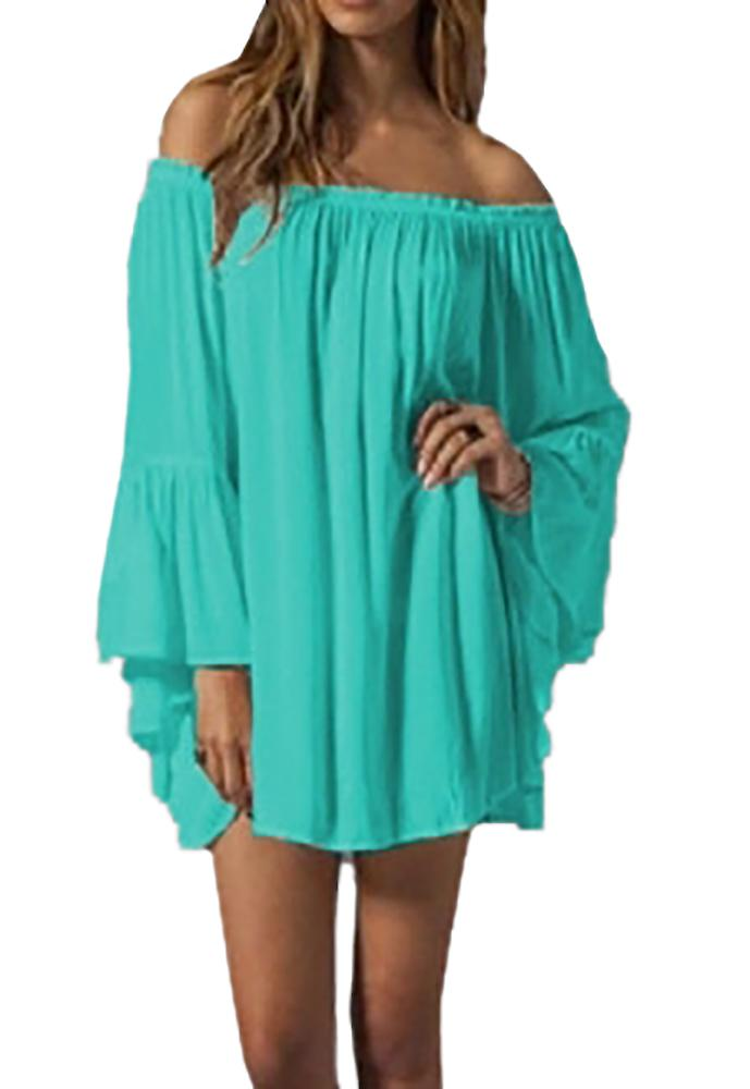 Waooh - Beach Boat Neck Tunic Vayana