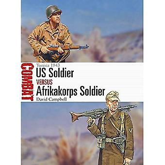 U.S. Soldier vs Afrikakorps soldat: Tunisie 1943 (Combat)