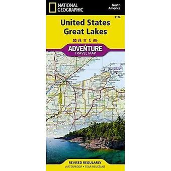United States, Great Lakes Adventure Maps