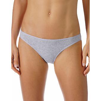 Mey Women 29500-620 Women's Cotton Pure Grey Melange Knickers Panty Full Brief