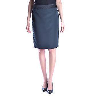 Armani Collezioni negro falda poliéster