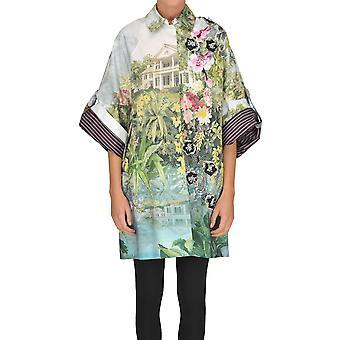 Antonio Marras Multicolor Cotton Coat
