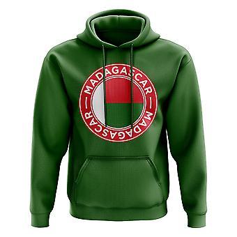 Madagascar Football Badge Hoodie (Green)