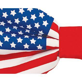 Dobell Mens Stars and Stripes USA flagga fluga pre bundna