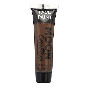 Face & Body Paint by Moon Creations - 12ml - Brown