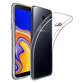 Samsung Galaxy J4 + plus téléphone cas cas cas cas silicone transparent