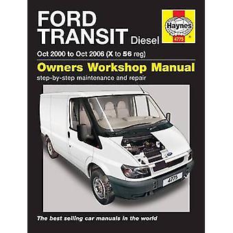Ford Transit Diesel 00-06 - 9780857338693 Book