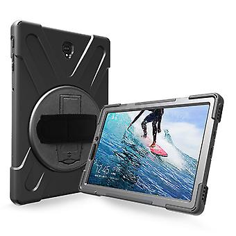Galaxy Tab S4 10.5 '' Protection Case Reinforced Corners Support Stand - Black