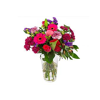 Bunch of Flowers Kim large, purple | Height: 45 cm