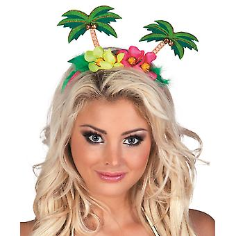 Palm Tree Headband Accessorio Festival Tiara