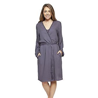 Cyberjammies 4189 Women's Laura Grey Modal Short Robe