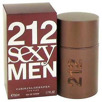 212 sexy door Carolina Herrera Eau de Toilette Spray 1,7 oz (mannen) V728-441012