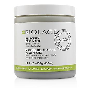 Matrix Biolage R.A.W. Re-Bodify Clay Mask (For Flat, Fine Hair) 400ml/14.4oz
