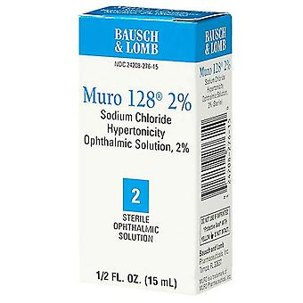 Muro 128 steriele ophthalmic 2%-oplossing, 0.5 oz
