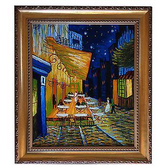 Efter Vincent van Gogh, dricka kafe i kväll