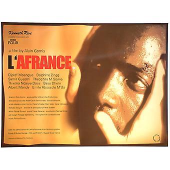 L'Afrance Original Cinema Poster