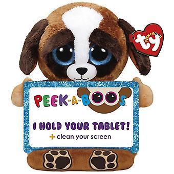 TY Pups Dog Gosedjur Tablet Hållare Till Surfplatta 32cm