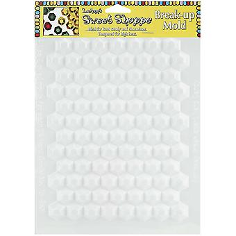 Sweet Shoppe Candy Molds Hexagon Break Up L55 42