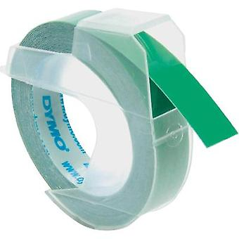 Labelling tape DYMO Tape colour: Green Font colour:White 9 mm 3 m