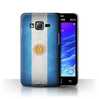 STUFF4 Case/Cover for Samsung Z1/Z130/Argentina/Argentinean/Flags