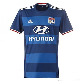 2016-2017 Olympique Lyon Adidas Away Football Shirt (Kids)