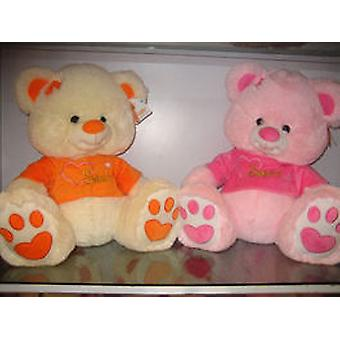 Import Teddy Bear with Shirt 35 Cm (Kinder , Spielzeuge , Puppen , Stofftiere)