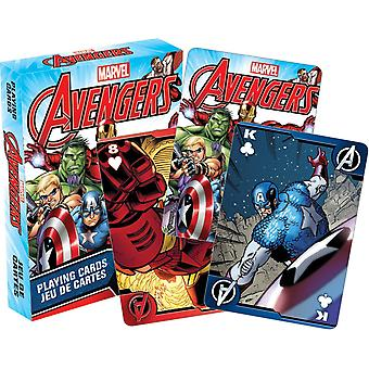 Marvel Avengers set van 52 speelkaarten (nm)