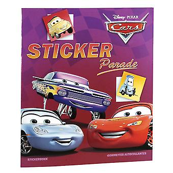 Malvorlagen Autos & Sticker Book