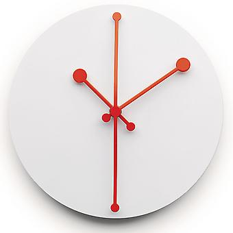 Alessi White Dotty Wall Clock