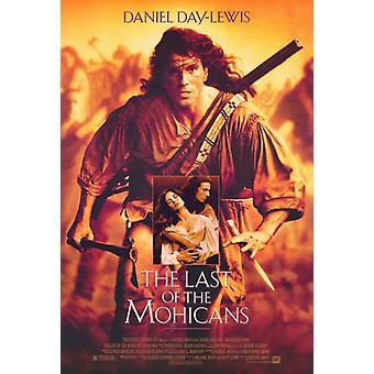 最後のモヒカン族映画ポスター印刷 (27 × 40)