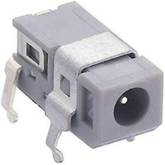 Low power connector Socket, horizontal mount 2.75 mm 0.65 mm