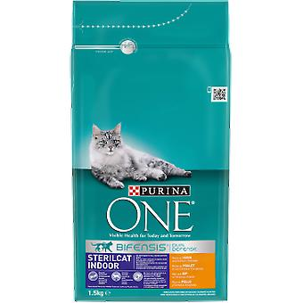 Purina One Sterilized Indoor (Cats , Cat Food , Dry Food)