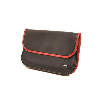 Berba Soft purse 001-165 black/red