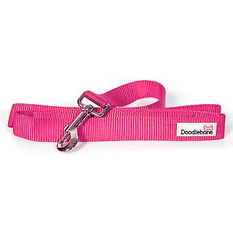 Doodlebone Bold Nylon Lead Pink Medium 20mm X1.3m