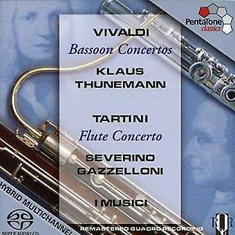 Vivaldi/Tartini - Vivaldi: Importación USA conciertos para fagot [SACD]