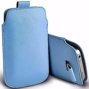 i-Tronixs Premium Stylish Faux Leather Pull Tab Pouch Skin Case Cover For VKworld VK700 Pro (5.5