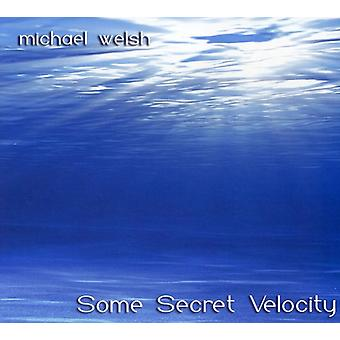 Michael Welsh - Michael Welsh: Some Secret Velocity [CD] USA import