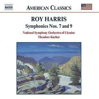 R. Harris - Roy Harris: Symfonier nr. 7 & 9 [CD] USA import