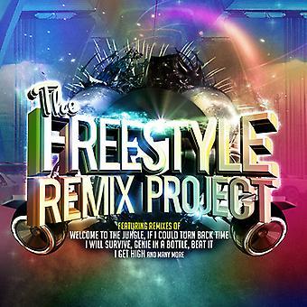 Diverse Artist - Freestyle Remix Project [CD] USA importeren