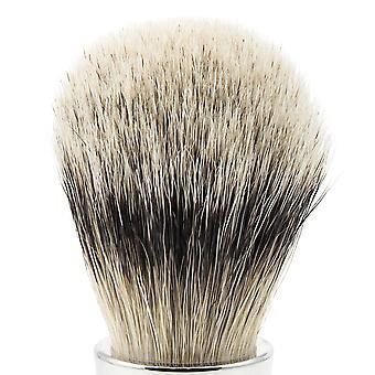 Pędzel do golenia Borsuk srebrnopłetwe programu da Vinci UOMO 293 | średnicy Ø22 mm umożliwia