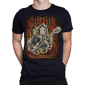 Liquid Blue - AC/DC LET THERE BE ROCK  - Short Sleeve T-Shirt