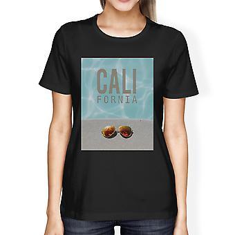California Pool Sunglass Womens Lightweight Summer T-Shirt Cotton
