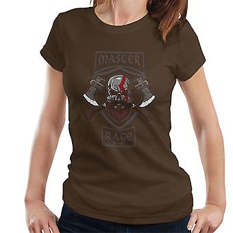 Master The Rage Kratos God Of War Women's T-Shirt