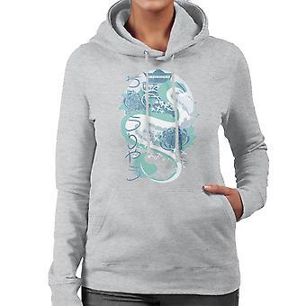 Spirited Away Dragon Of The Blue River Women's Hooded Sweatshirt