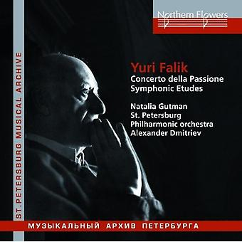 Dmitriev / Gutman - Yuri Falik: Concerto Della Passione symfonisk [CD] USA import